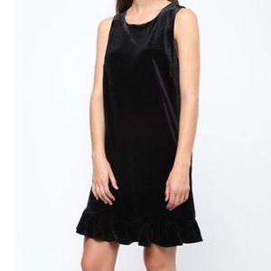 Mo Vint New York Velvet Black Dress.